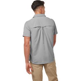 Craghoppers NosiLife Adventure Camisa Manga Corta Hombre, cloud grey